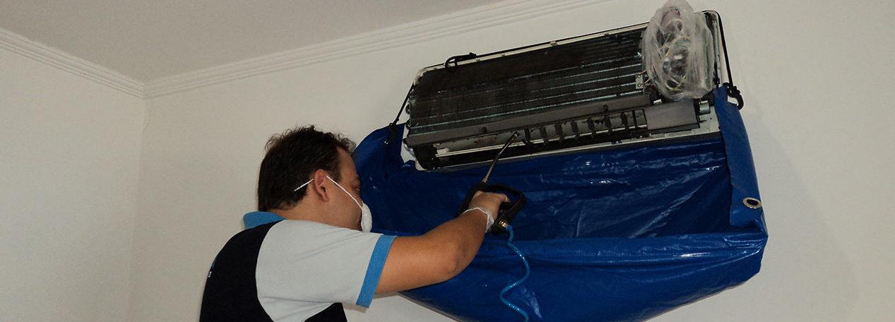 Higienizção de Ar Condicionado
